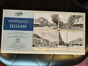 500 PIECE JIGSAW PUZZLE THE FRANCIS FRITH POSTCARD COLLECTION ROMFORD ILFORD