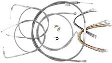 BURLY BRAND CABLE AND BRAKE LINE KITS, STAINLESS BRAID B30-1053