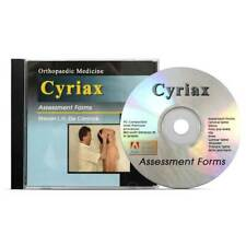 OPTP Cyriax Assessment Forms Educational CD