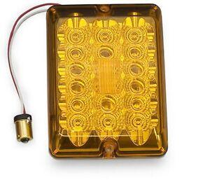 LED AMBER Tail light ~ 42-84-412 Bargman ~ Turn signal ~ Upgrade kit