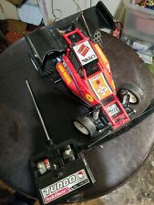Vtg 1980's Nikko Turbo Panther RC Car Remote Control  Frame Buggy w/ RARE REMOTE