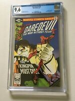 DAREDEVIL 170 CGC 9.6 FRANK MILLER 1981 (WHITE PAGES)