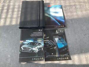Jaguar XJ handbook owners manual pack navi wallet 2009-2013 print 2009