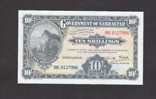 """10 Shillings Unc Banknote From British Gibraltar 2018 """"Celebrate World Tourism"""""""