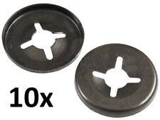 10x Starlock acier peint 2,4 mm 3/32'' Pouce Disque Rondelle plate rondelle
