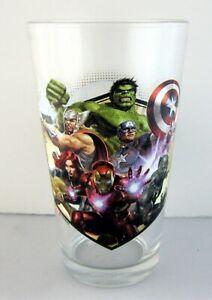 Brand New 16 oz Marvel's The Avengers Pint Glass Marvel Comics Double Sided MCU