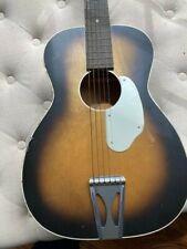 Vintage Fender Uni-Bar Acoustic Guitar - USA
