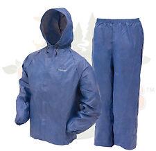 Frogg Toggs  Ultra-Lite II Rain Suit Gear Hiking Camping FREE shipping Blue XL