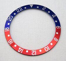 PEPSI BEZEL INSERT FOR ROLEX GMT MASTER BLUE/RED 16710 16700  - UK STOCK