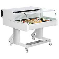 CELEBRITY 100 LOW FARMERS MARKET REFRIGERATED MOBILE DELI FOOD DISPLAY