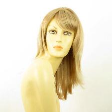 Perruque femme mi-longue blond clair cuivré méché blond clair LILI ROSE 27t613