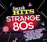 SMASH HITS STRANGE 80S (2017) 60-track 3-CD NEW/SEALED Tears For Fears