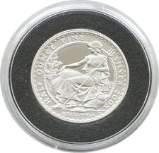 2005 British Royal Mint Britannia £1 One Pound Silver Proof 1/2oz Coin