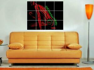 """A TRIBE CALLED QUEST - THE LOW END THEORY MOSAIC WALL POSTER BORDERLESS 34""""x30"""""""