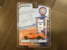 Greenlight 1:64 Running On Empty 1965 Dodge D-100 Gulf Auto Repair 41060-B Chase