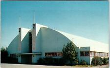 SANTA ROSA, California CA   Sonoma COUNTY FAIR PAVILION  ca 1950s  Postcard