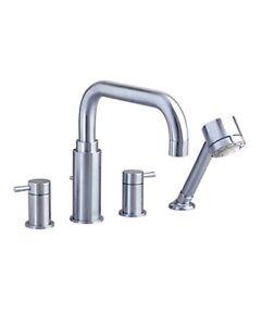 American Standard Tub Filler, W/Handshower. Serin, Satin Nckel.2064901.295 5A2