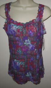 HANKY PANKY~SMALL~9Y4254~Highland Garden Lace Unlined Camisole