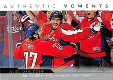 17/18 SP AUTHENTIC MOMENTS #101 ALEX OVECHKIN CAPITALS 1000 POINTS *51813