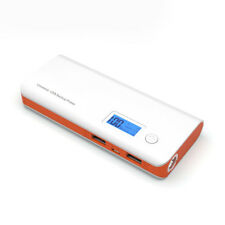 50000mah LCD Power Bank 2usb LED Universal Battery Charger for iPhone Samsung LG Orange