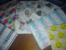 bulk lot of 60 sheets of tissue paper