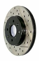 StopTech (127.47021L) Sportstop Slotted and Drilled Brake Rotor