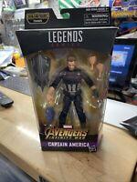"Captain America 6"" Figure Marvel Legends Thanos BAF Series 2017 Hasbro New"