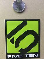 FIVE TEN 5.10 ROCK CLIMBING SHOES Green STICKER DECAL