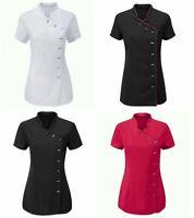 Salon Therapist Massaging Tunic Uniform Cloth Beauty Tunic Hairdresser SPA Nail