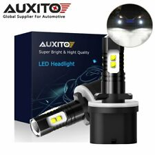 AUXITO 880 899 893 885 CSP LED Fog Light Driving DRL Bulb 6000K 100W High Power