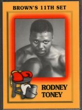 1997 Brown's Boxing #78 Rodney Toney
