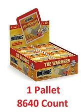 8640 HotHands Toe Warmers 1 PALLET 8640 PAIRS (NOT FOR RESALE USE)