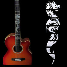 Guitar Inlay Stickers Dragon Guitarra Fretboard Decals/ Markers For Guitar Neck