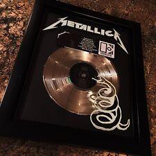 Metallica Black Album Platinum Record Disc Album Music Award MTV RIAA Grammy