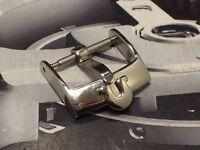 Original Swiss Omega Edelstahl Dornschließe Buckle 16 mm Lagerware Neuwertig