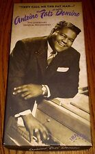 "ANTOINE ""FATS"" DOMINO THEY CALL ME THE FAT MAN ORIGINAL 4 CD SET BOX SET W/BOOK"
