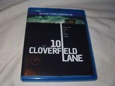 10 Cloverfield Lane (2016) BLU-RAY+DVD John Goodman Mary Elizabeth Winstead