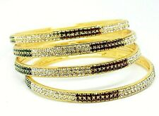 Trending Bracelets Gold Plated American Diamond Indian ethnic Jewelry Bangles