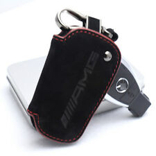 Genuine Style Leather Key Cover Case Holder For Mercedes Benz CLA GLA C E A AMG