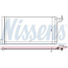 1 Condenseur, climatisation NISSENS 940181 convient à FORD