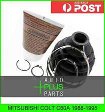 Mk3 1.3 Front Inner 86 to 92 C.V. CV Joint Boot Kit fits MITSUBISHI COLT Mk2