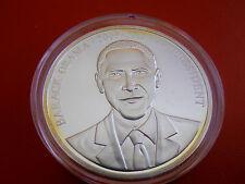 *Silber Münze/Medaille PP(ca.28 gr.) *USA President *Barack Obama