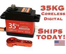35KG High Torque Waterproof Steel Gear 8135 Coreless Digital 180 deg 1/10 Servo