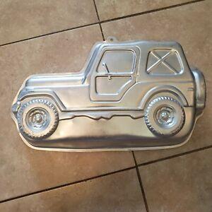 Vintage 1984 Wilton Trail Rider Jeep Wrangler Cake Baking Pan #502-4050 Off Road