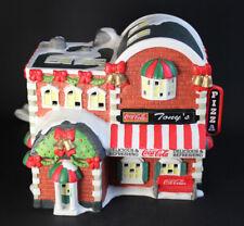 Hawthorn Village Coca-Cola Town Square Collection - TONY'S PIZZA - Ceramic 1997