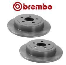 Pair Set of 2 Rear Disc Brake Rotors Brembo for Chrysler PT Cruiser Dodge Neon