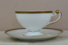 Hutschenreuther forma frauenlob Empire ätzgold arista café hoja mientras comíamos 2tlg a partir de 1920
