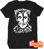 MISFITS TSHIRT - AMERICAN NIGHTMARE ROCK MEN's T SHIRT SMALL-5XL MULTIPLE COLORS
