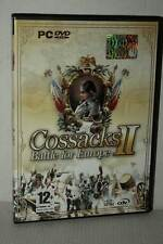 COSSACKS II BATTLE FOR EUROPE GIOCO USATO PC DVD VERSIONE ITALIANA GD1 51319