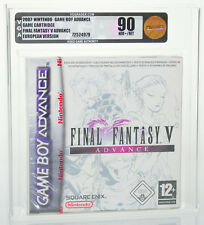 Final Fantasy V Advance 5 | Nintendo Game Boy Advance GBA SEALED graded VGA 90